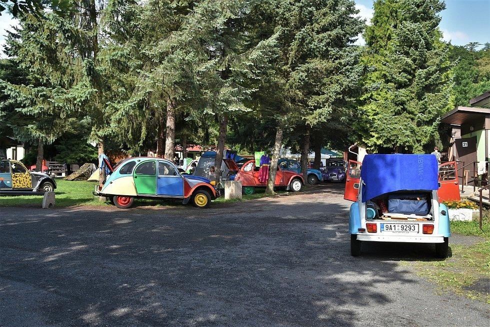 Setkání Citroënů v Bílině