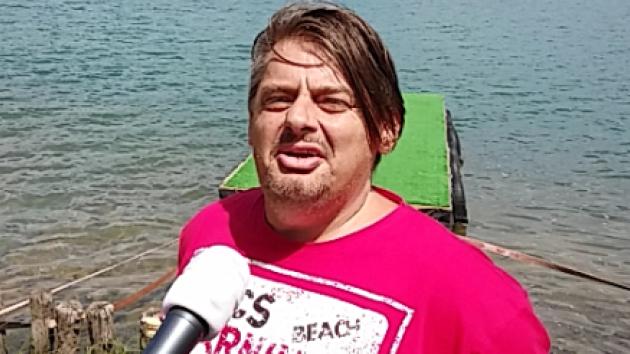 Pátrání po zmizelých potápěčích na Barboře