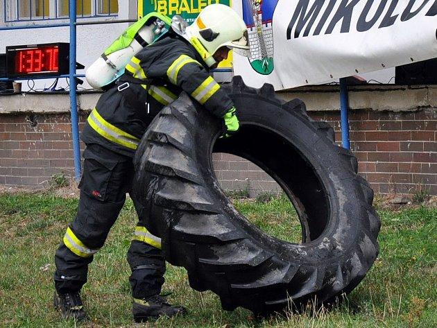 7. ročník soutěže Železný hasič v Mikulově.