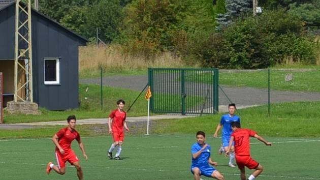 Fotbalový turnaj Vietnamců