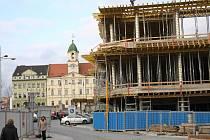Výstavba Fontány a Galerie