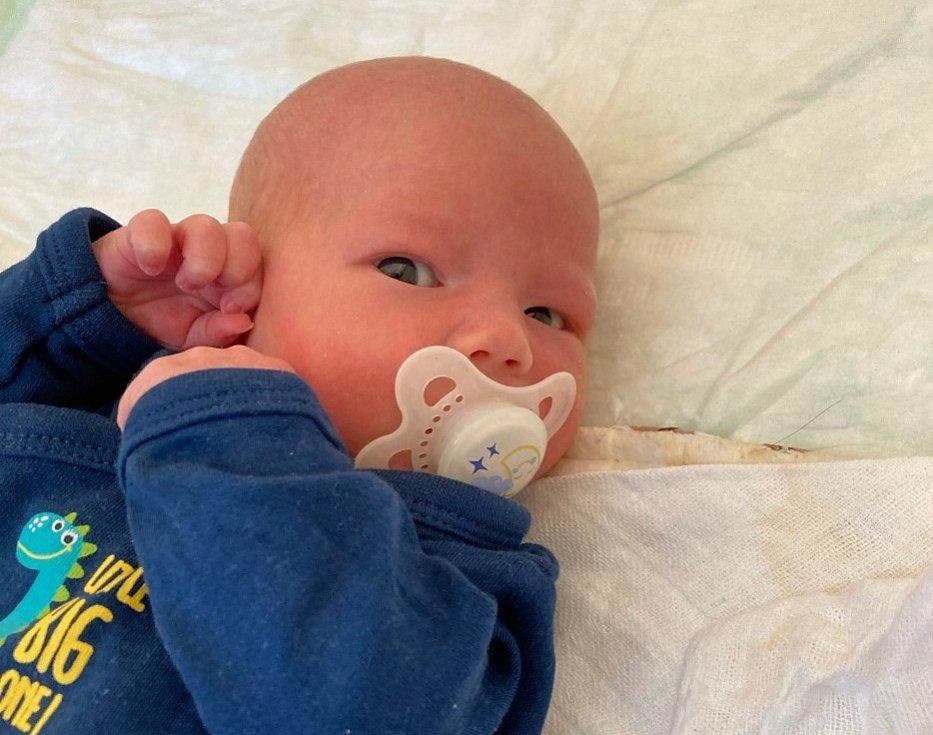 Václav Monhart se narodil Denise Cepníkové a Michalovi Monhartovi 4. září v 18:06 hodin. Měřil 50 cm, vážil 2,80 kg.