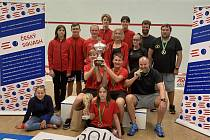Republika družstev ve squashi měnila historii, tepličtí junioři jsou mistři.