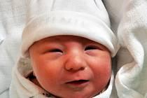 DOMINIK KOZÁK se narodil Lucii Kozákové z Dubí 6. října v 17.42 hod. v teplické porodnici. Měřil 49 cm a vážil 3,55 kg.