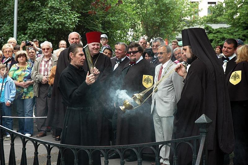 Oficiální start Lázeňské sezony s číslem 857 obstaralo tradičně svěcení pramenů a průvod.