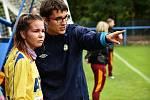 Bohumil Kudrhalt - trenér dívčího týmu FK Teplice