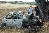 Nehoda u Kvítkova na Teplicku