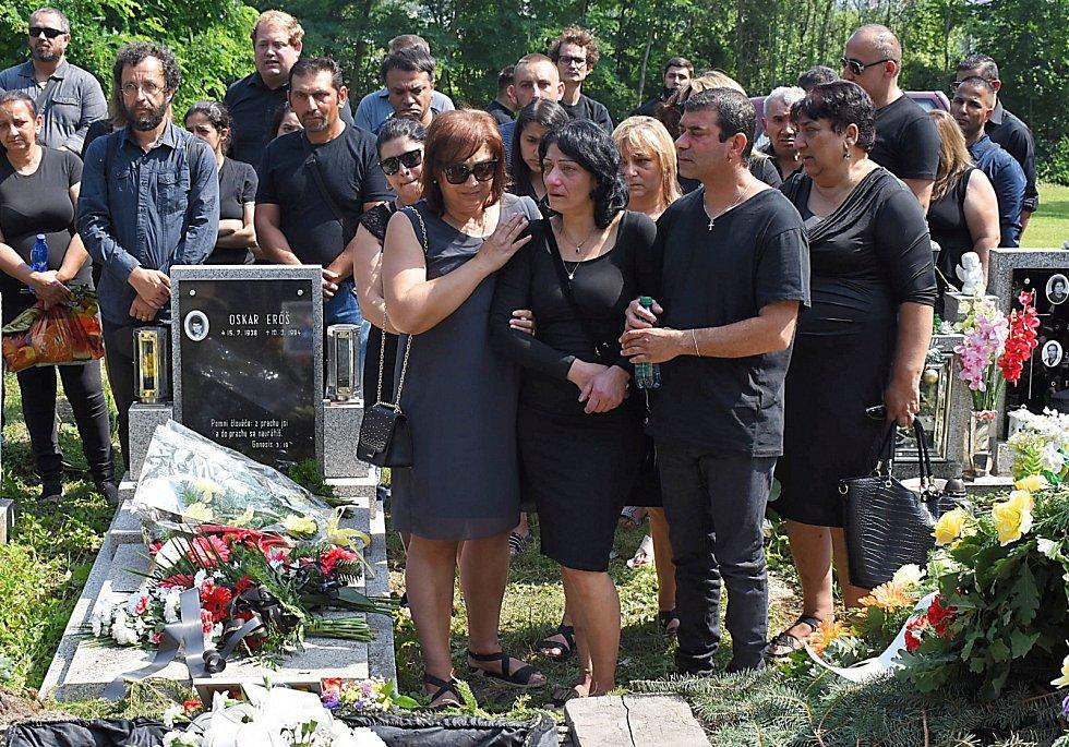 Poslední rozloučení a pohřeb Stanislava Tomáše v Teplicích