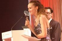 Slavnostní vyhlášení soutěže Czech and Slovak Hairdressing Awards v pražském hotelu Hilton. Jana Burdová