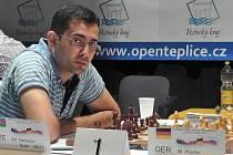 ÁZERBÁJDŽÁNSKÝ VELMISTR Nidjat Mamedov, vítěz mezinárodního šachového turnaje Open Teplice 2013