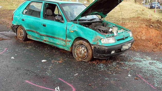 Dopravní nehoda Bystřany