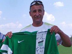 Legenda modlanského fotbalu předčasně zesnulý Petr Škohel.