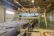 Krupský výrobní závod Knaufinsulation pokořil milník milionu tun vyrobené izolace.