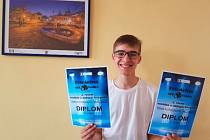 Fotosoutěž vyhrál student hotelové školy Jan Macek