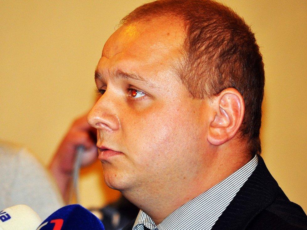 Radní Duchcova Jindřich Svoboda (DSSS)