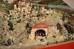 Na teplickém zámku vystavují betlémy