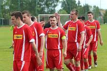 Hrob - Košťany (červené dresy)