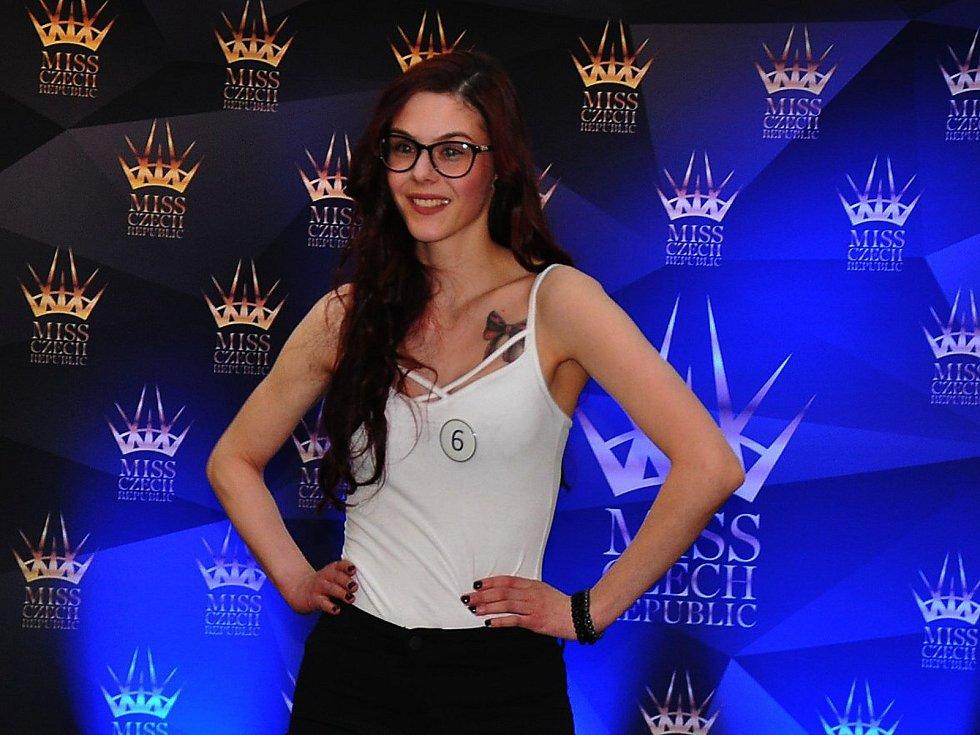 Casting na MISS CZECH REPUBLIC 2018 v Teplicích.