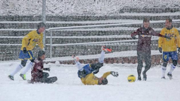 Sněhové radovánky na Strahově