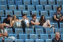 Fanoušci na utkání Teplice  - Olomouc