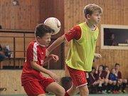 Halový fotbalový turnaj v Krupce