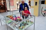 Výstava Igráček v obchodním centru Galerie v Teplicích
