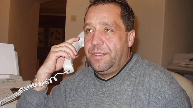 Petr Mácha, pověřený vedením KC Kaskáda.