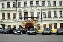 Hotel Prince de Ligne v Teplicích.
