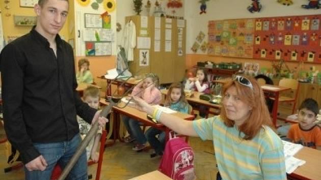 Učitelé a žáci si prohodili role