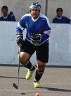 Hokejbalový turnaj v Krupce - Marek Mikéska z Loun