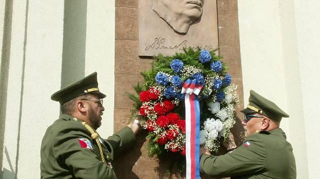 Uctění památky úmrtí Edvarda Beneše