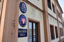 Mateřská škola ve Rtyni nad Bílinou.
