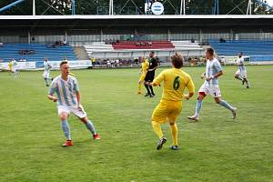 Srbice - Žatec (ve žlutém) 3:0