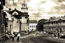 Zaniklá obec Hrdlovka.