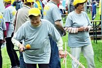 Přes 70 důchodců soutěžilo na Hrách v Košťanech
