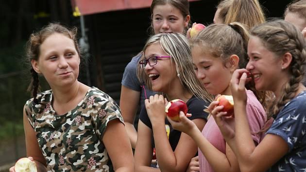 Ilustrační foto. Letní dětský tábor.
