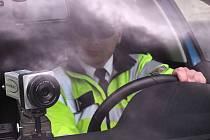 Policisté při akci Speed marathon v Unčíně