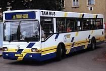Autobus Dopravního podniku Teplice.