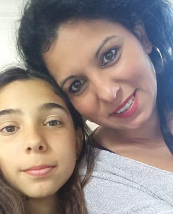 Eva Tancošová s dcerou