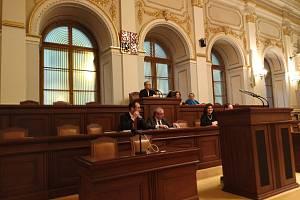 Obchodní akademie Teplice navštívila Sněmovnu.