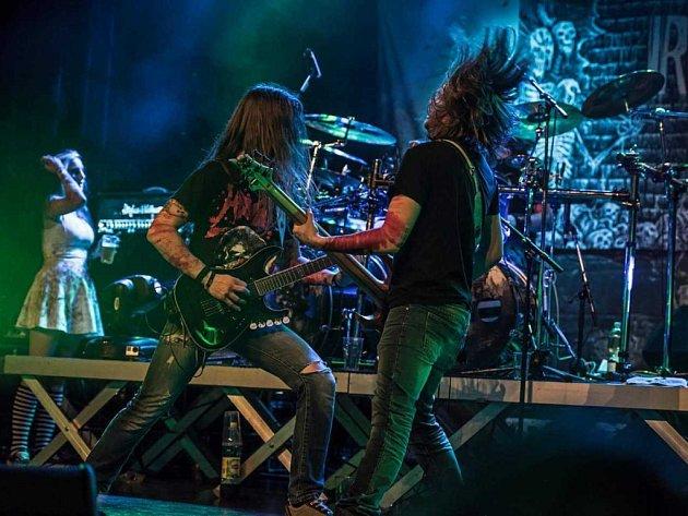 Švýcarská thrash metalová skupina IRONY OF FATE.