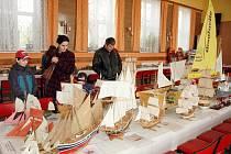Výstava modelů v Proboštově
