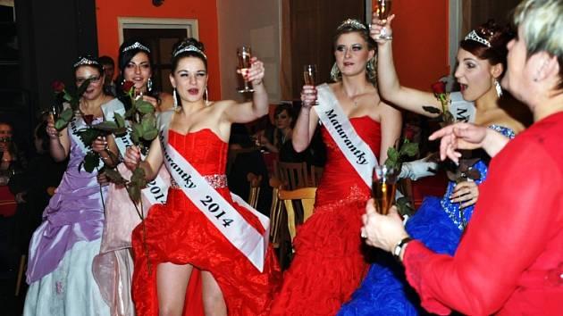 Maturitní ples kosmetiček STS Teplice