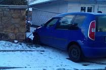 Dopravní nehoda v Proboštově.