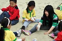 Tábor Vietnamců v Bílině