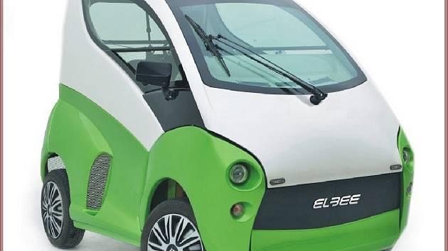 Speciální vozidlo pro postižené.