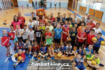 Letní kemp mladých basketbalistů