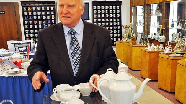 Generální ředitel Českého porcelánu Vladimír Feix.