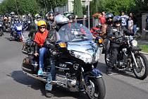 Motorkáři z New Sedlice Rebel's zakončili sezonu akcí v Novosedlicích.