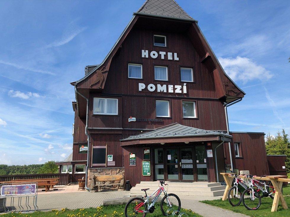 Hotel Pomezí na Cínovci